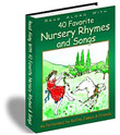 Read Along eBook to 40 Favorite Nursery Rhymes and Songs