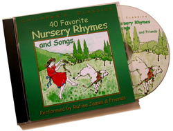 RUFINA JAMES: 40 Favorite Nursery Rhymes and Songs